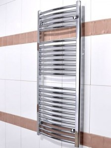 хромирана лира за баня