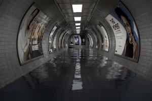 наводнен тунел